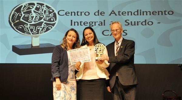 CAIS ganha Prêmio de Responsabilidade Social